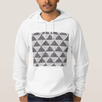 Dotted Triangles Pattern #2 Hoodie