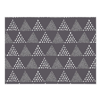 Dotted Triangles Pattern #3 Card