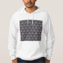 Dotted Triangles Pattern #3 Hoodie