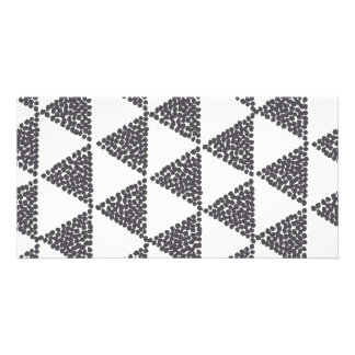 Dotted Triangles Pattern #4 Card