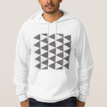 Dotted Triangles Pattern #4 Hoodie