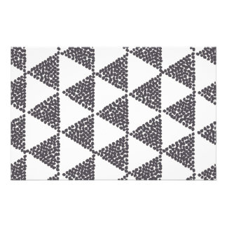 Dotted Triangles Pattern #4 Stationery