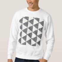 Dotted Triangles Pattern #4 Sweatshirt