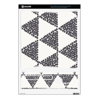 Dotted Triangles Pattern #4 Xbox 360 S Skin