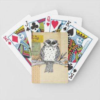 Dotti el búho 26 barajas de cartas
