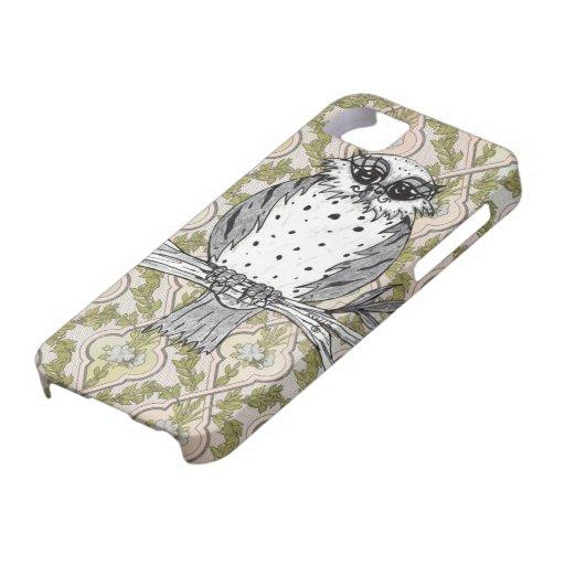Dotti el caso del iPhone 5 del búho 30 iPhone 5 Carcasa
