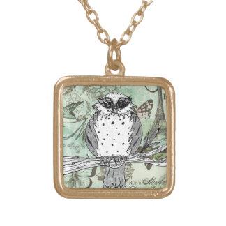 Dotti the Owl 31 Custom Necklace