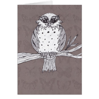 Dotti the Owl 32 Greeting Cards