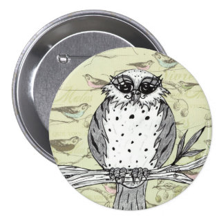 Dotti the Owl 33 Buttons