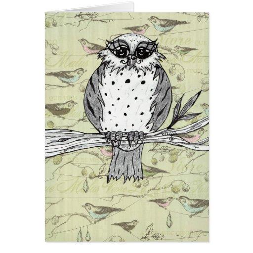 Dotti the Owl 33 Greeting Card