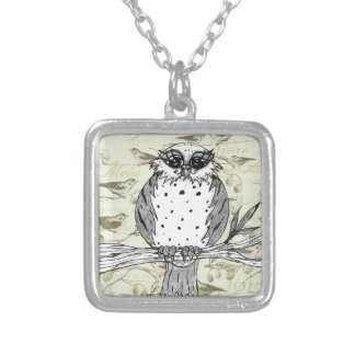 Dotti the Owl 33 Personalized Necklace