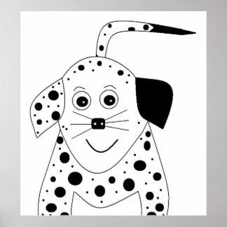 Dottie Dog Poster