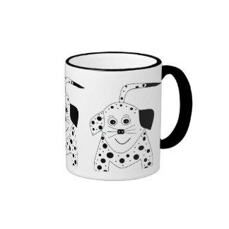 Dottie Dog Ringer Mug