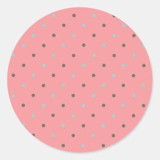 Dottie - Pinky Classic Round Sticker