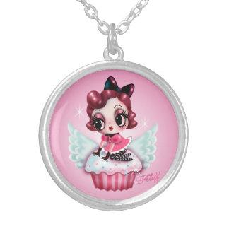 Dottie Rides a Flying Cupcake Custom Jewelry