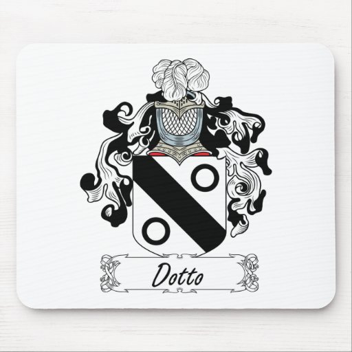 Dotto Family Crest Mouse Mats