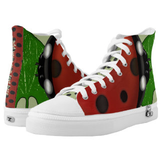 Dotty About Ladybugs Printed Shoes