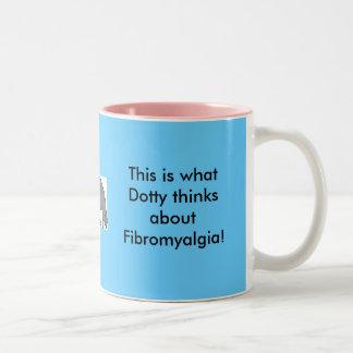 Dotty and Fibro Mugs