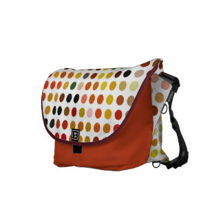 Dotty Autumn Shades Weekend Bag