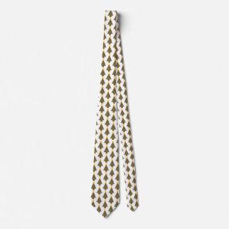 dotty christmas tree neck tie