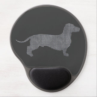 Dotty Dachshund Gel Mouse Pad