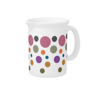 Dotty Fall 2015 Colors Drink Pitcher