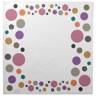 Dotty Fall 2015 Colors Napkin