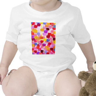 DOTTY in Pink - Bold Colorful Polka Dots Rompers