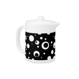 Dotty Night Teapot