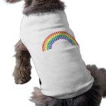 Dotty Rainbow Pet Tshirt