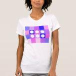 Dotty squares and circles t shirt