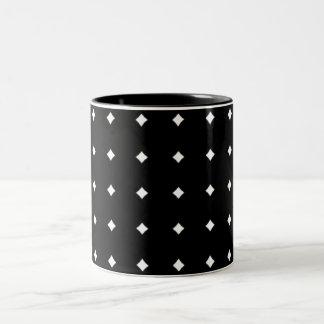 Dotty squares mug
