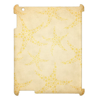 Dotty Starfish on Vintage Style Pattern Cover For The iPad 2 3 4