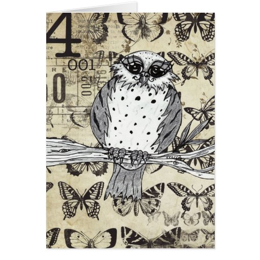 Dotty the Owl 10 Greeting Card
