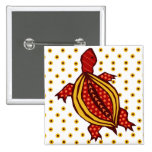 Dotty-Torty 2 Inch Square Button