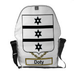 Doty Family Crest Courier Bag