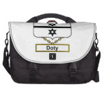 Doty Family Crest Laptop Computer Bag
