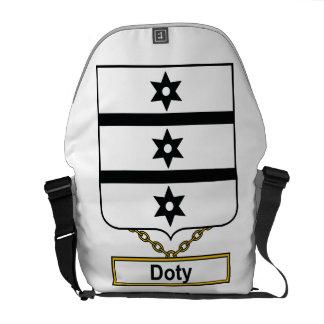 Doty Family Crest Messenger Bag