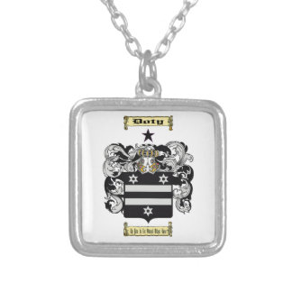 Doty Square Pendant Necklace