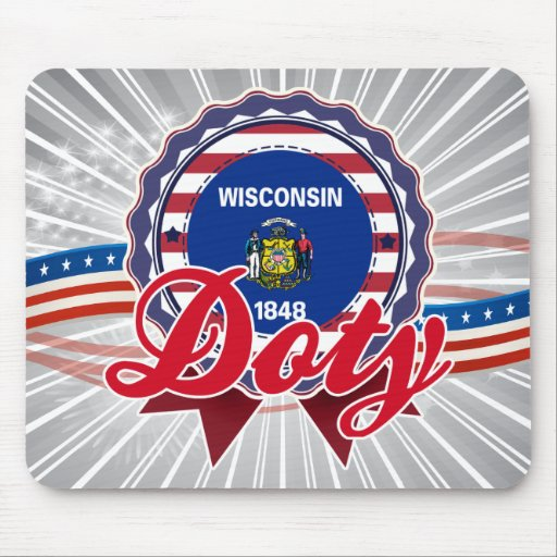 Doty, WI Mouse Pad