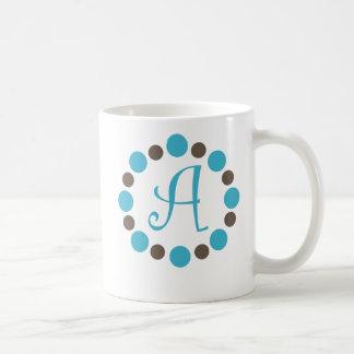 "Dotz Initial Mug ""A"""