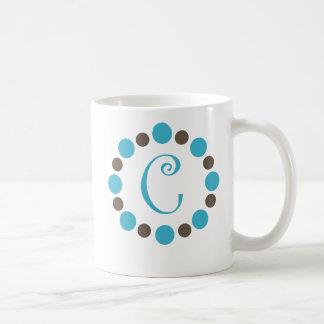 """Dotz Initial Mug """"C"""""""