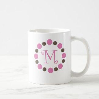 "Dotz Initial Mug ""M"""