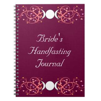 Double 3 in 1 Wiccan Lesbian Bride's Journal