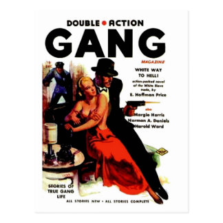 Double Action Gang Postcard