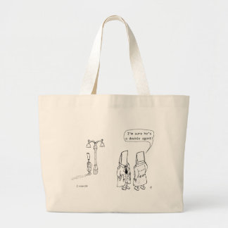 Double Agent Large Tote Bag
