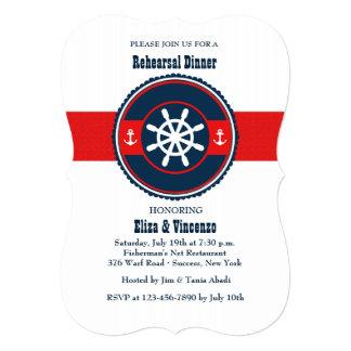 Double Anchor Invitation