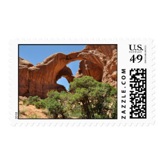 Double Arch - Arches National Park Postage