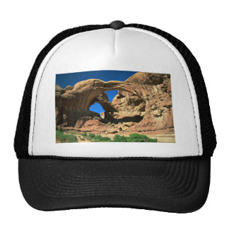 Double Arch Arches National Park Utah Trucker Hat