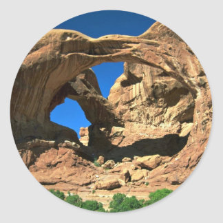 Double Arch, Arches National Park, Utah Stickers